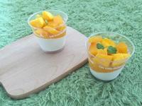 夏日芒果奶酪