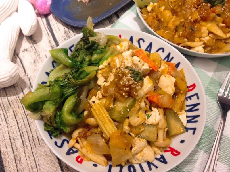 南瓜豆腐粉絲煲