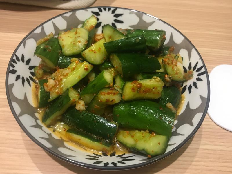 韓式辣味小黃瓜