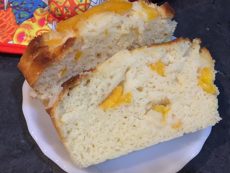 水蜜桃磅蛋糕 (無蛋-可改全素)
