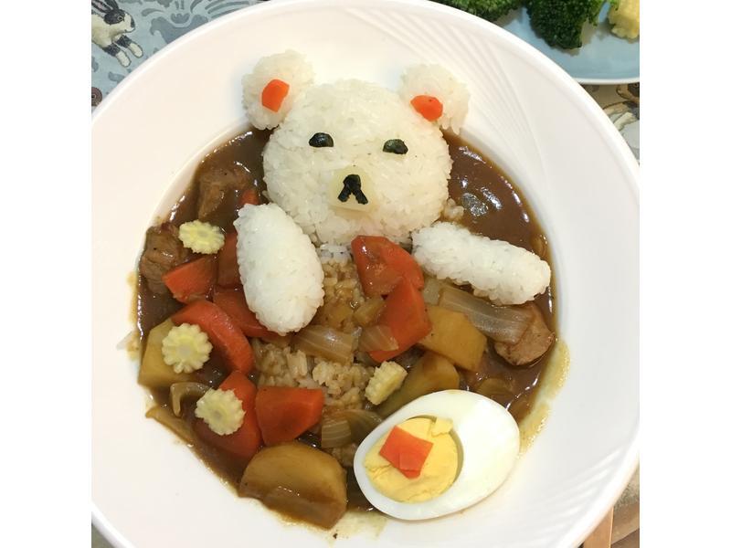 沐藝羊之懶熊咖哩飯