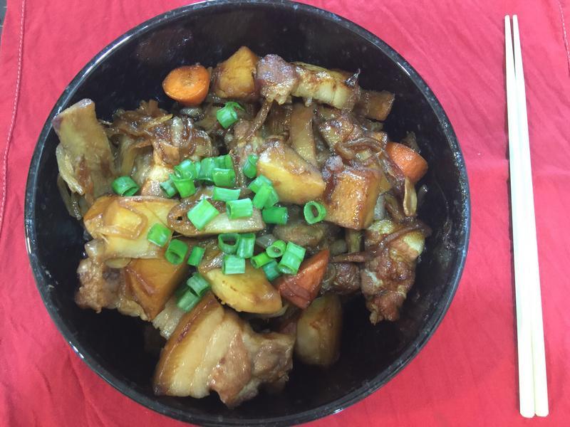 牛蒡馬鈴薯燉肉