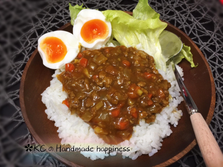 日式乾咖喱飯🍛