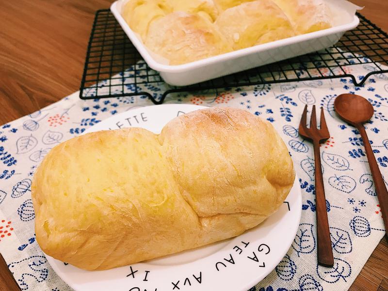 超鬆軟好吃的南瓜麵包