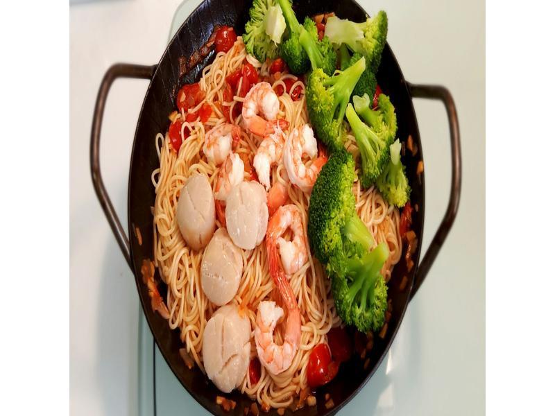 茄汁義大利海鮮麵