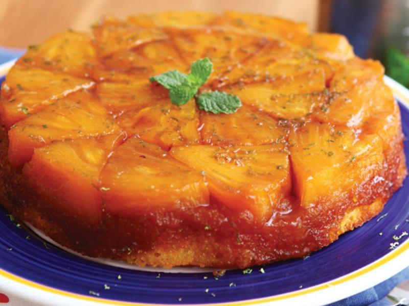 焦糖鳳梨蛋糕