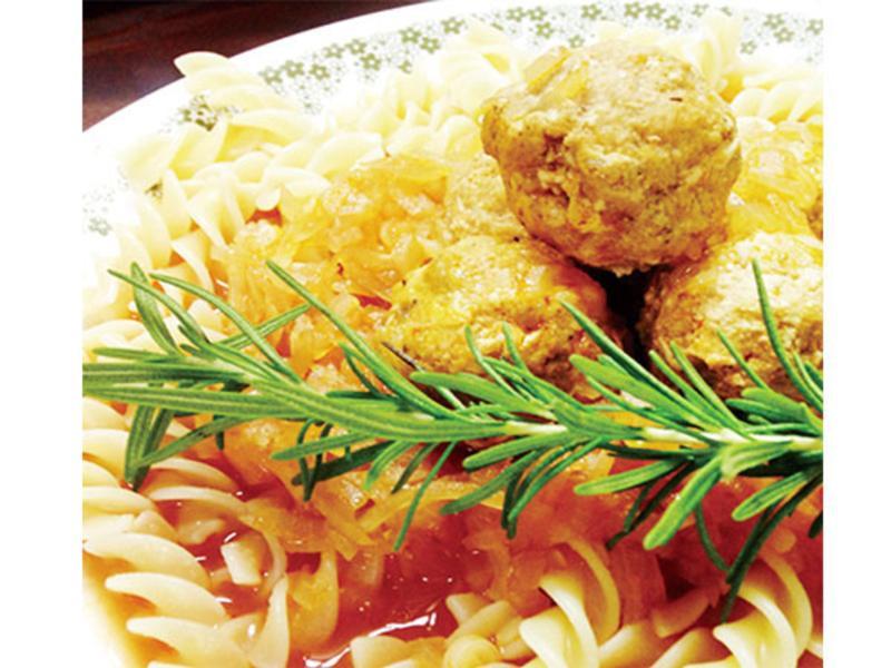 義式茄汁燉肉丸