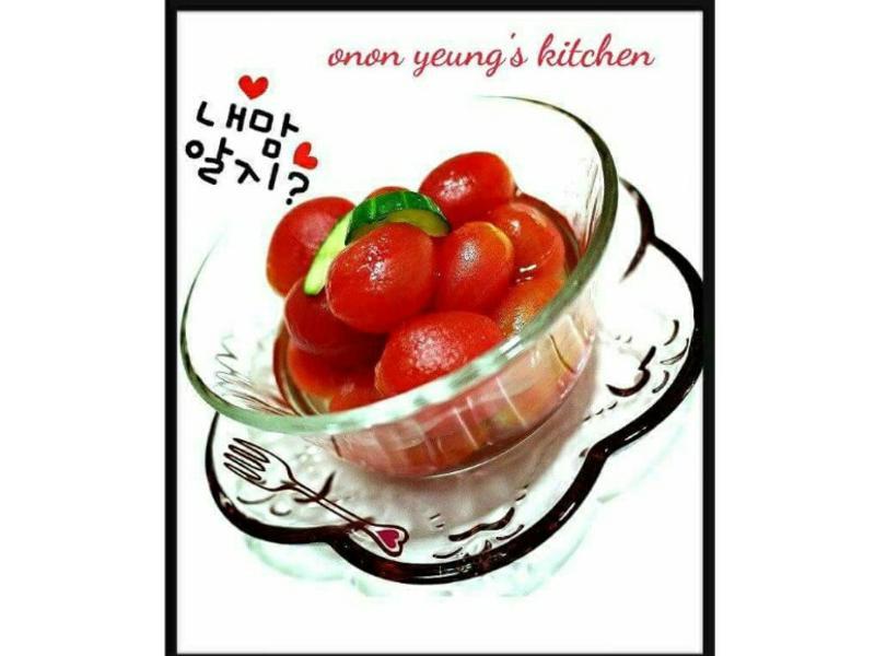 冰凍蜂蜜梅漬小蕃茄