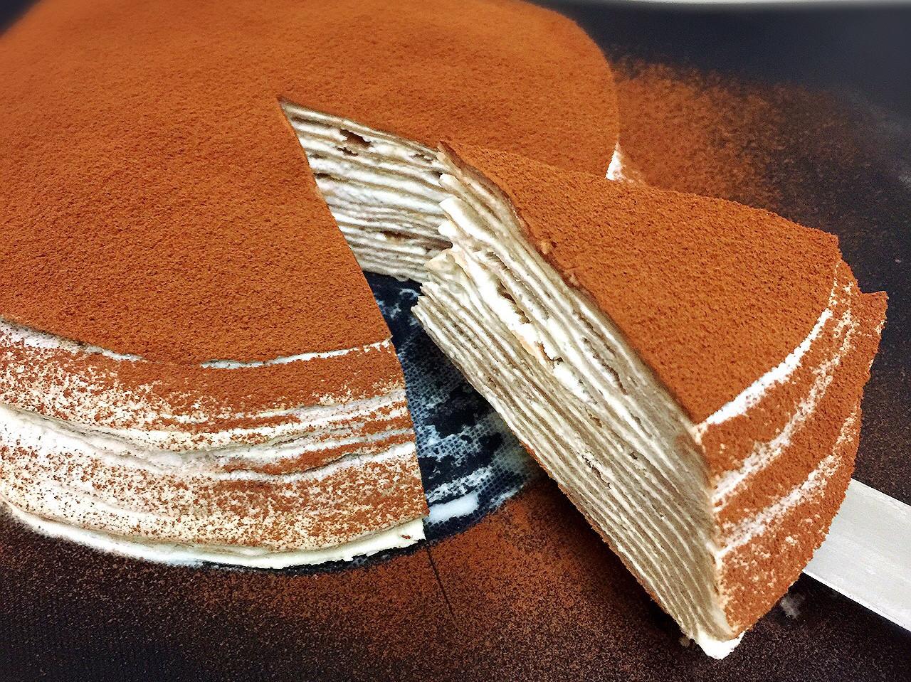 《電鍋版》免開火巧克力千層蛋糕