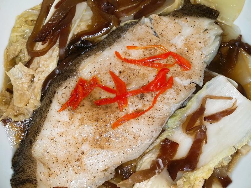 👶🍀☘🐋娃娃菜蒸魚