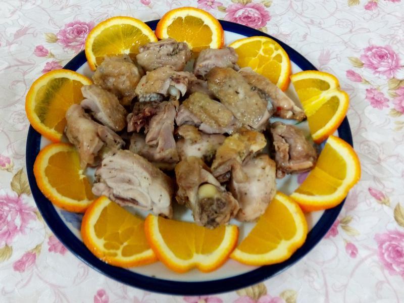 脆皮香草鹽焗雞塊