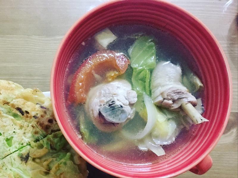 [減肥菜單] 番茄蔬菜雞肉湯