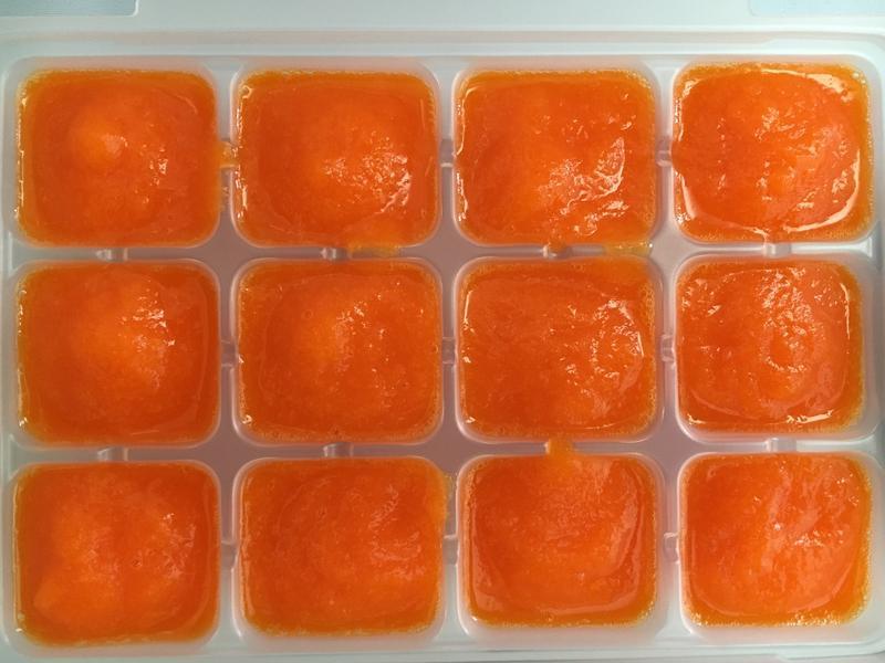 【副食品】甜椒泥 電子鍋烹飪
