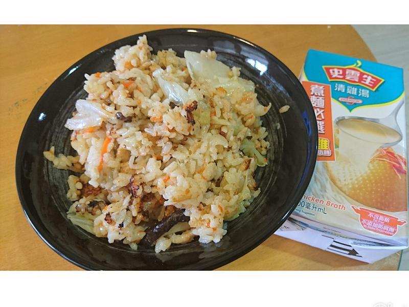 高麗菜飯[史雲生清雞湯]
