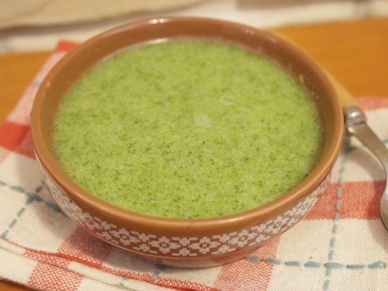 寶寶副食品「花椰菜泥」營養滿滿 ♪