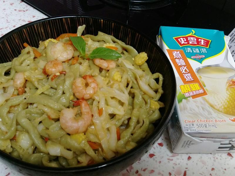 日式炒烏龍麵,道地,手工麵,史雲生清雞湯