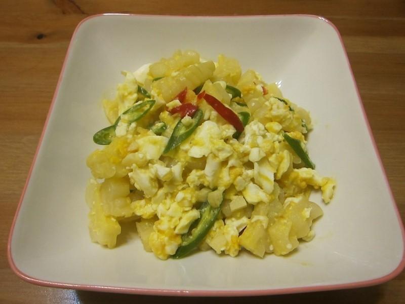 懶人妻的超簡單料理~「苦瓜鹹蛋」