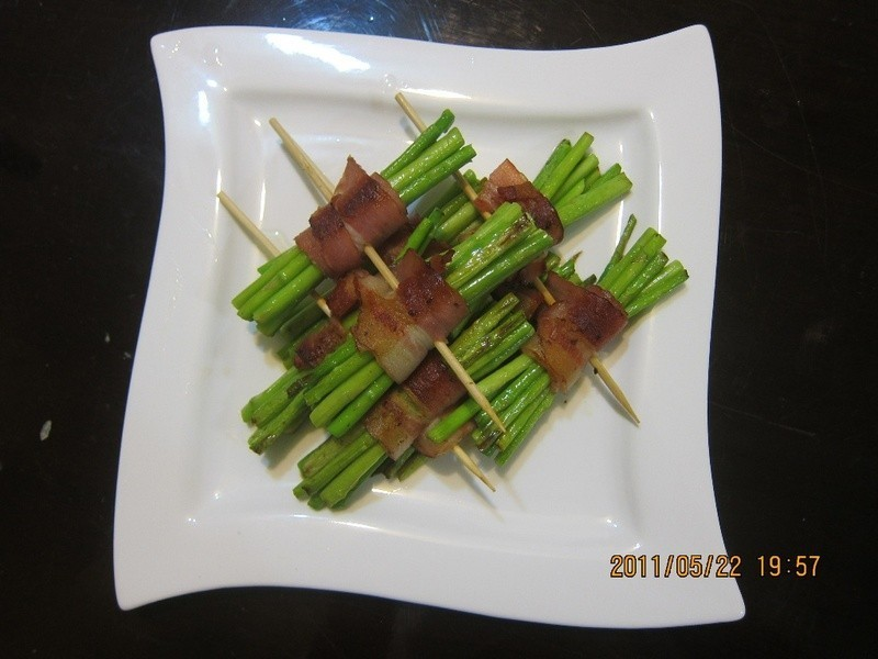 懶人妻的超簡單料理~「培根蘆筍卷」