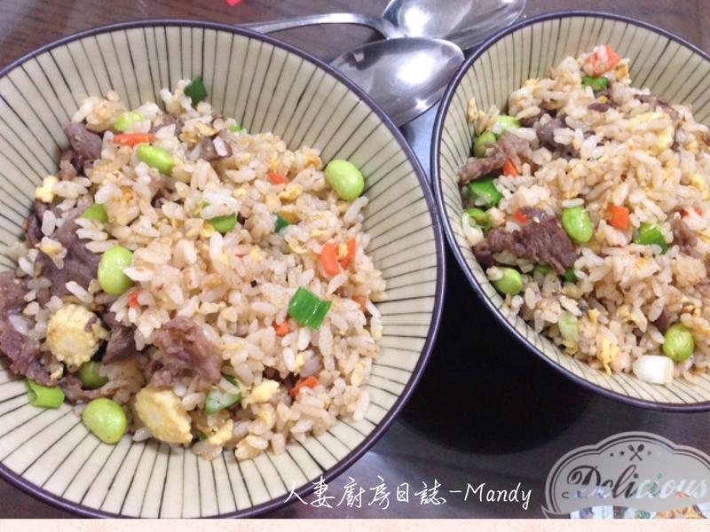 鮮蔬牛肉蛋炒飯