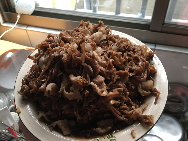豬肉炒高麗菜乾