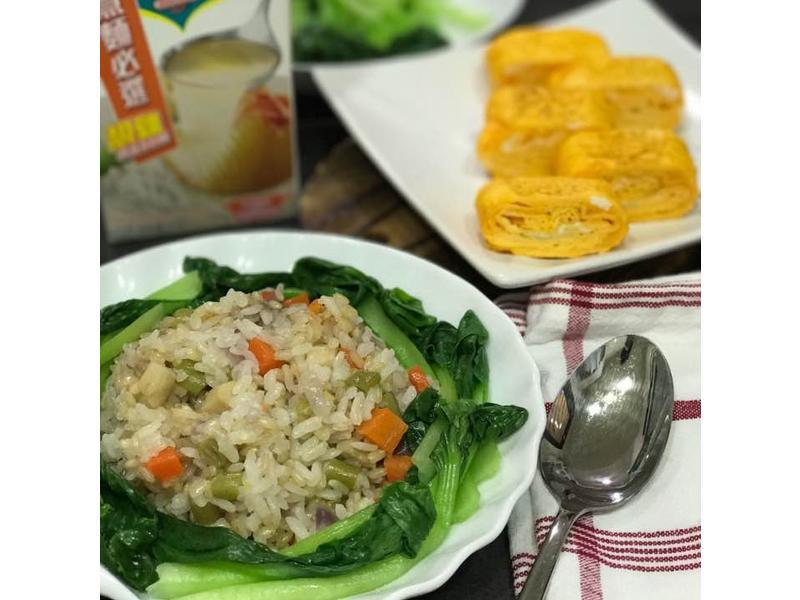 清雞湯燉飯佐玉子燒(史雲生清雞湯)
