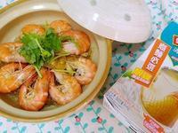 鮮蝦粉絲煲【史雲生清雞湯】