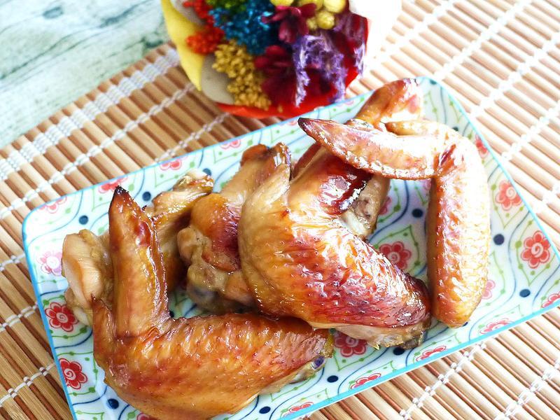 蒜香蜜汁烤雞翅
