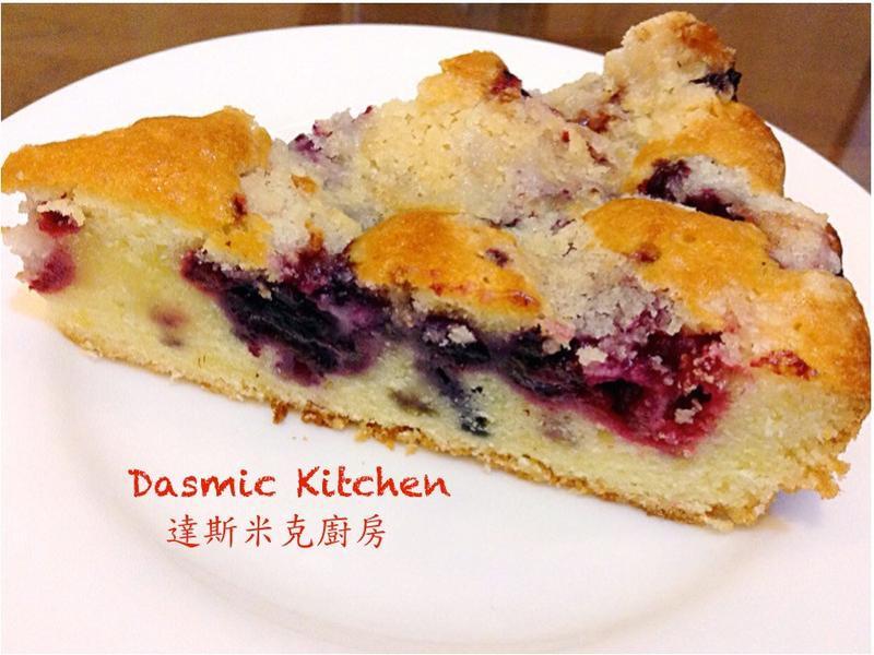 莓果奶酥蛋糕  ~附『實作影片』~