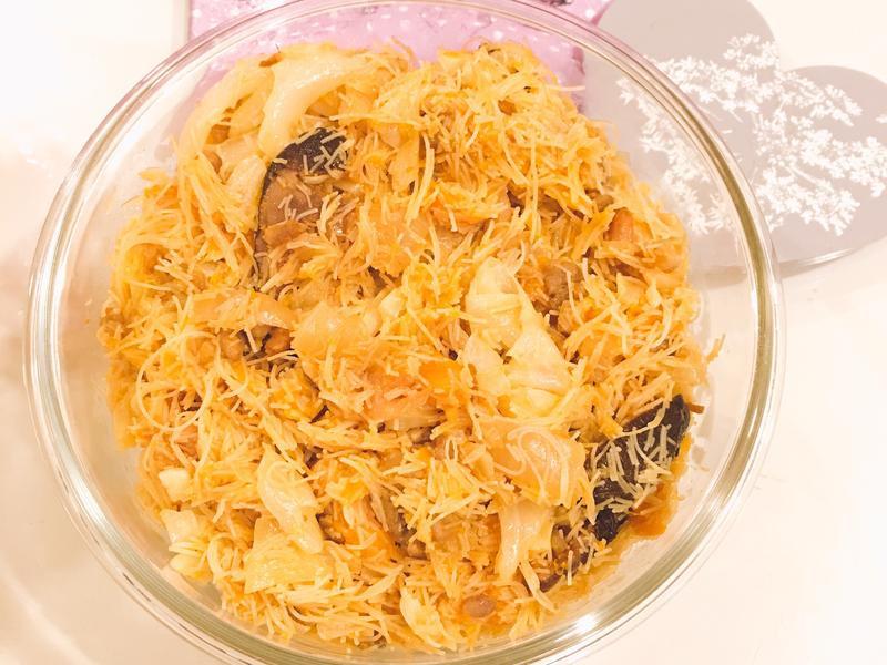 鮮蝦肉絲米粉炒