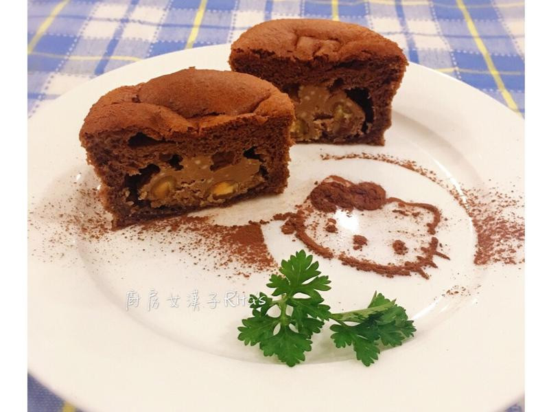 奶油乳酪巧克力杯子蛋糕