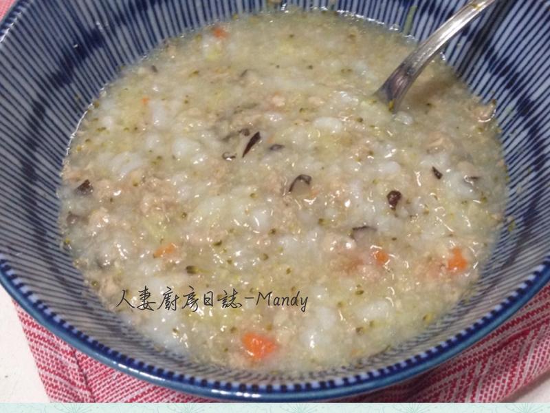 副食品-肉燥香菇蔬菜寶寶粥(9M~)