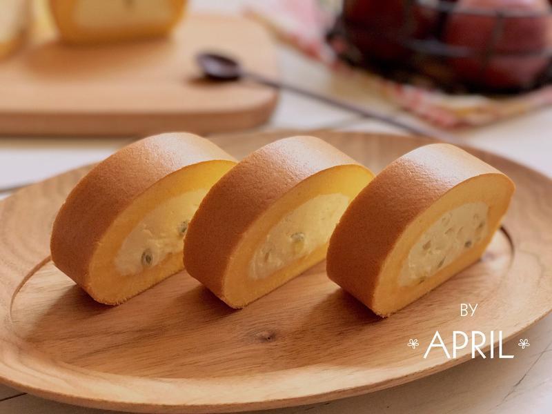 百香果生乳蛋糕捲