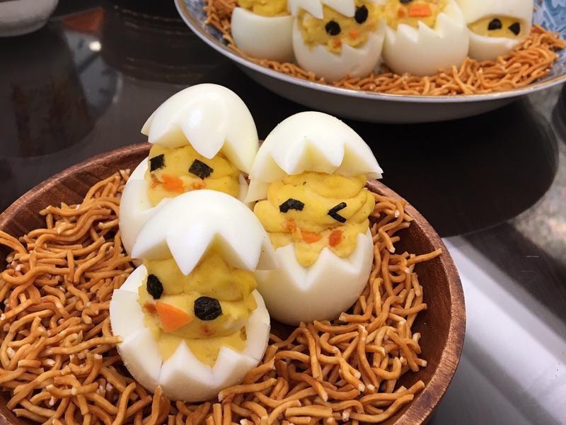 可愛雞蛋沙拉🐣❤