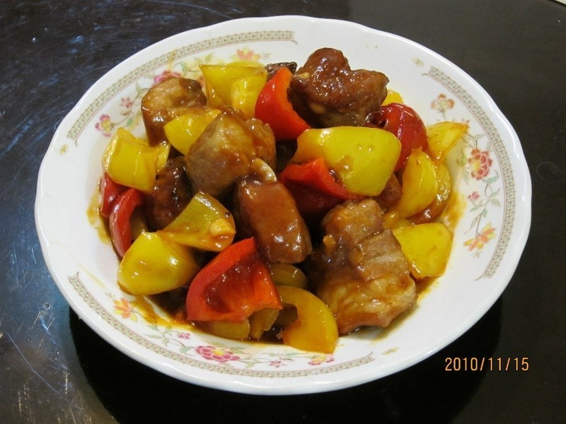 懶人妻的超簡單料理~「糖醋排骨」