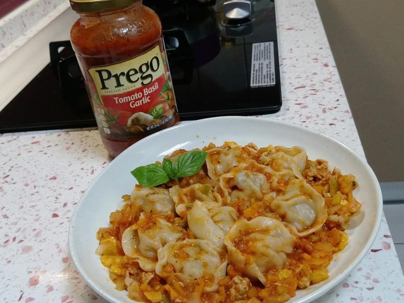 義大利餃,時尚「Prego 義大利麵醬」