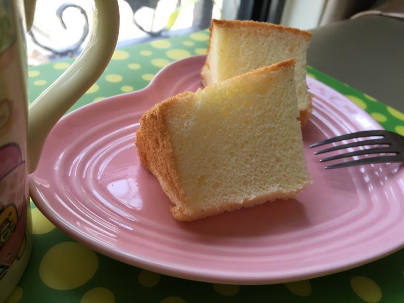 原味戚風蛋糕(6吋,燙麵法)