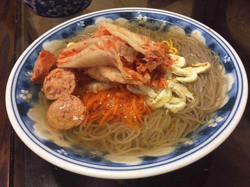 韓式雞湯冬粉