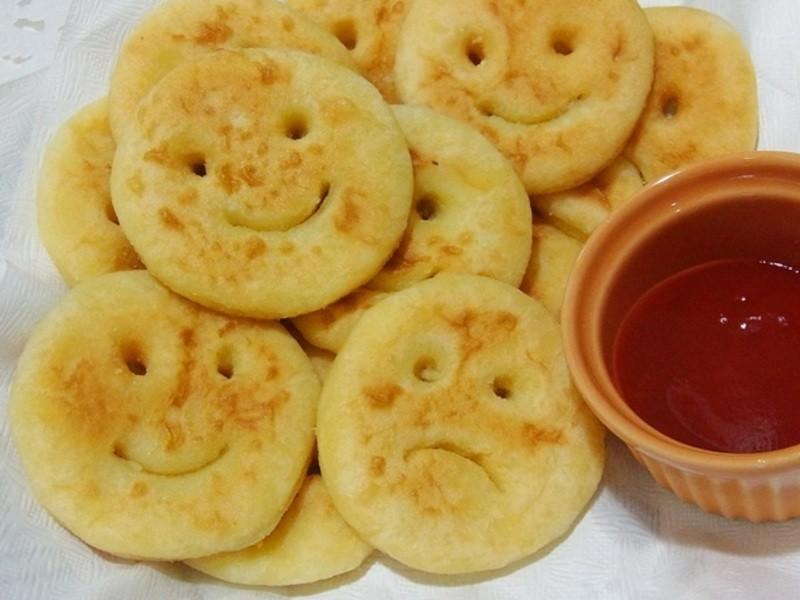笑臉薯餅自己做