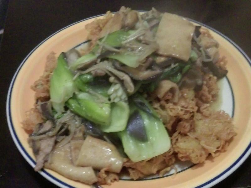 簡易版廣東炒麵