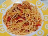 【Prego 義大利麵醬】番茄蕈菇肉醬麵