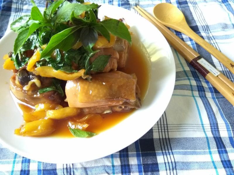 十分鐘上菜─漬薑燒雞(無油料理)