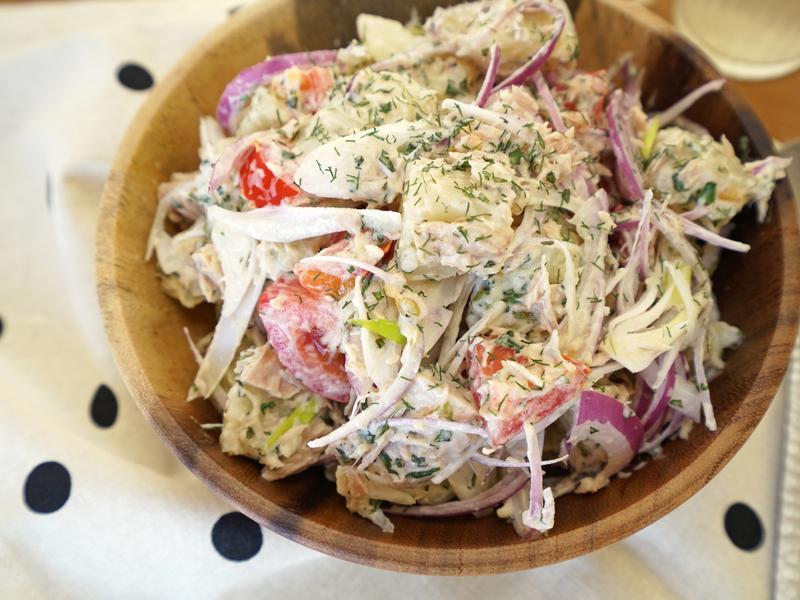 馬鈴薯鮪魚沙拉