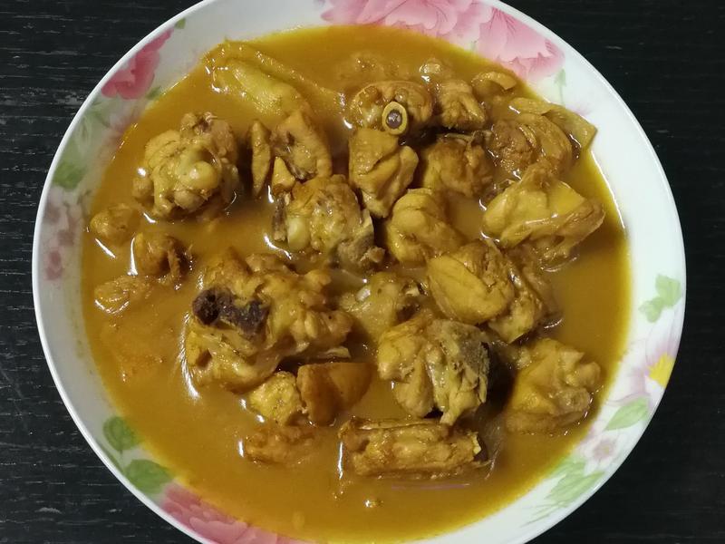 阿嬤口味👉薑炒醬油膏雞肉