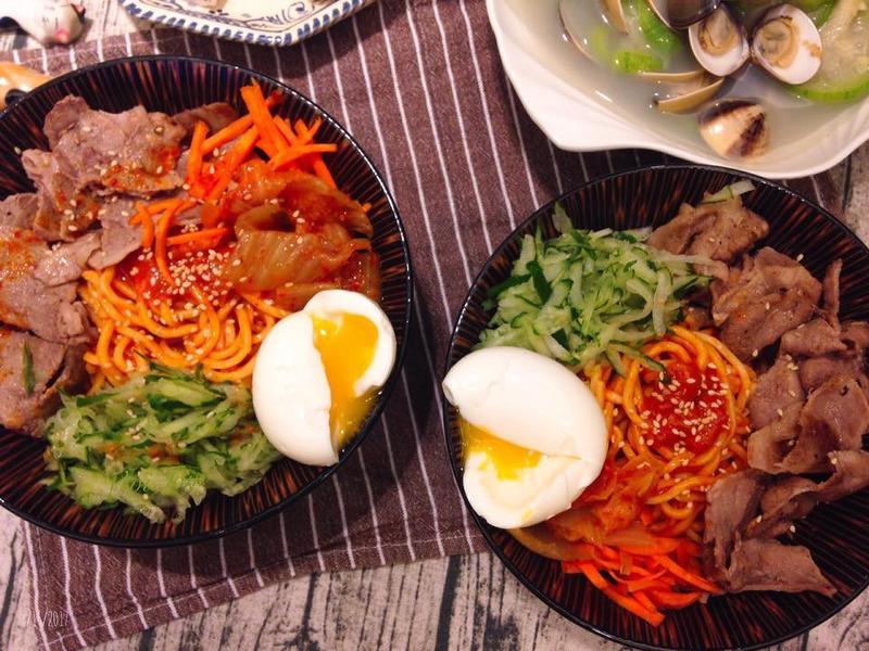 夏日開胃韓式辣冷麵