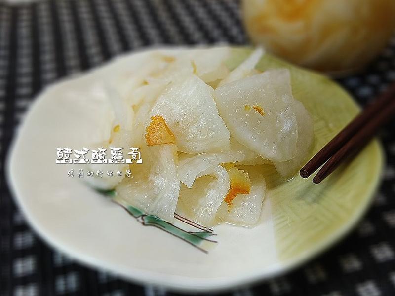 瑪莉廚房:韓式醃蘿蔔