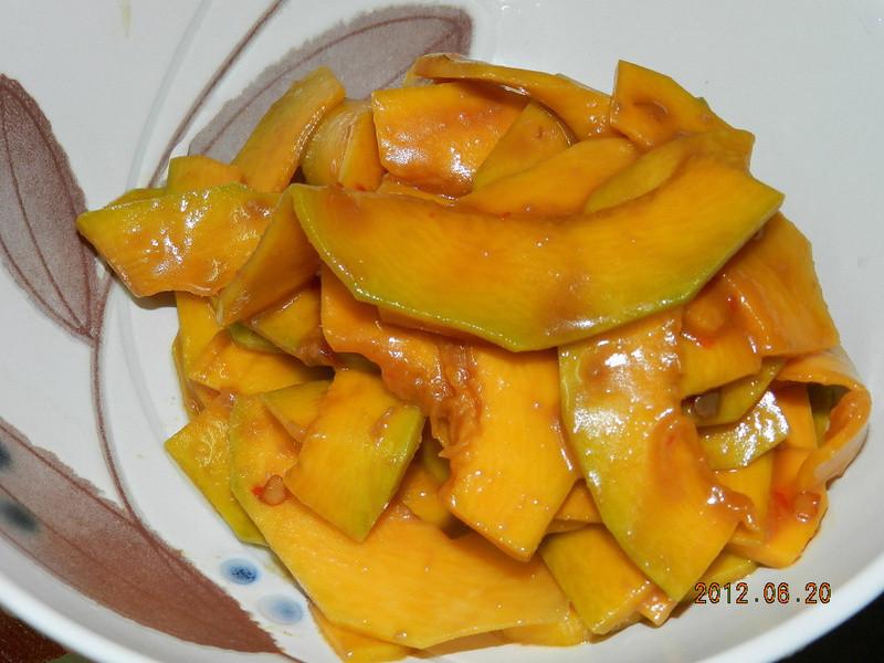 ㄚ曼達的廚房~辣豆瓣南瓜