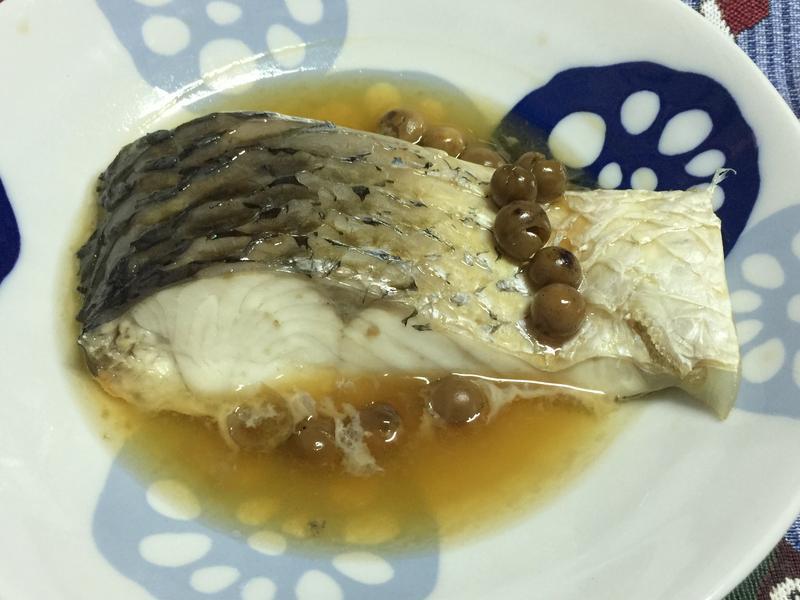 甘樹子蒸魚🐟