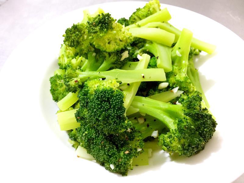 黑胡椒綠花椰菜