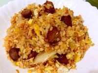 韓式泡菜香腸辣炒飯