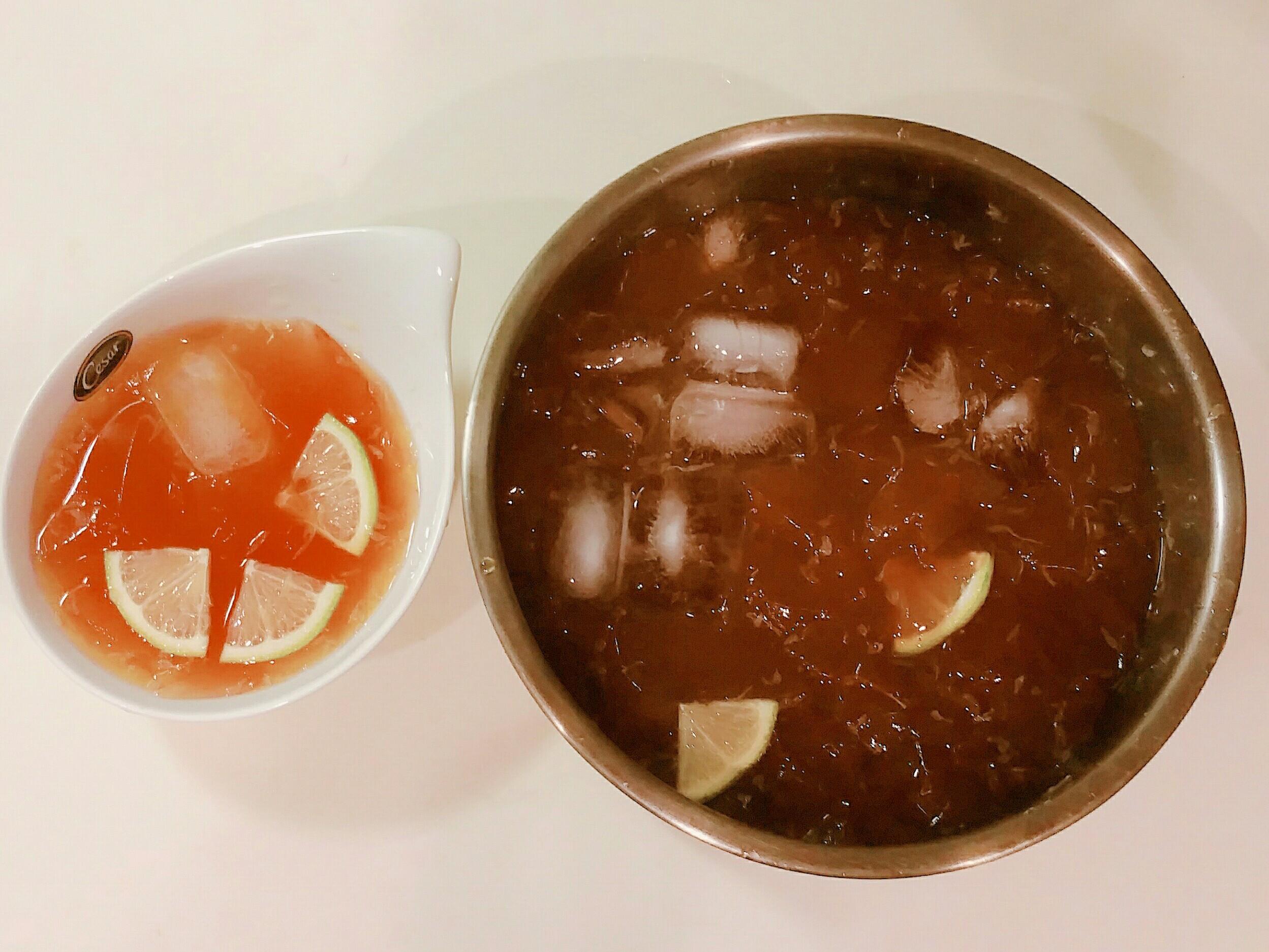 檸檬愛玉vs洗愛玉籽